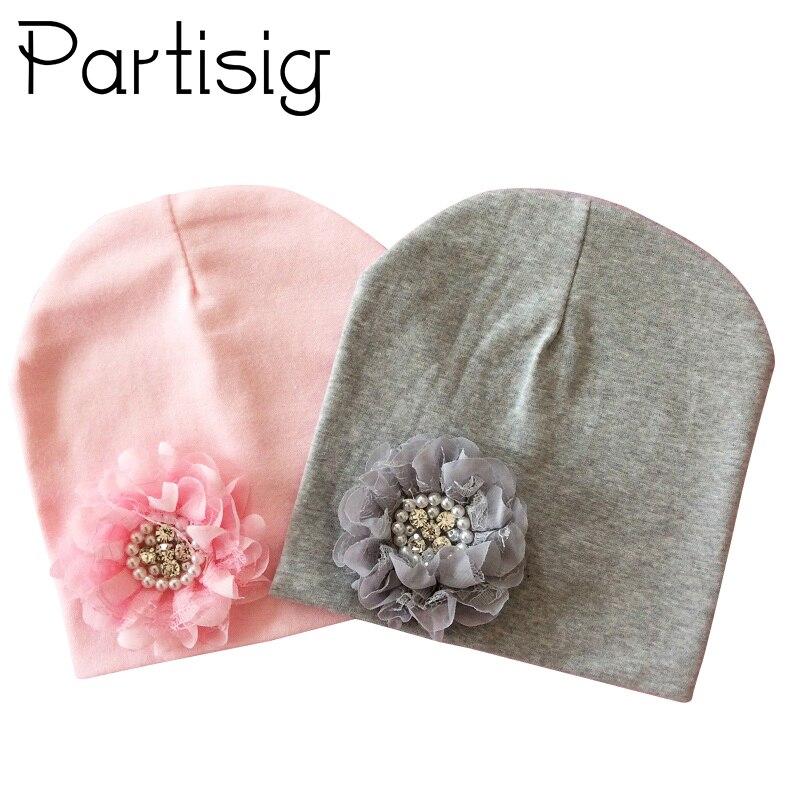 Детская зимняя шапка, хлопковая шапка с цветочным принтом для маленьких девочек, детская шапка с цветочным принтом, Детские аксессуары