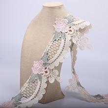 Garnitures de vêtement en dentelle Polyester   Tissu dentelle, ruban, bricolage 2 cour/Lot, accessoires de vêtement, fournitures de couture, tissus 19529