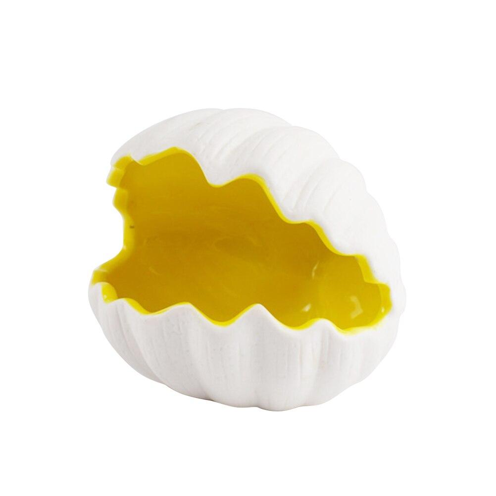 1pcs Hamster Nest Funny Shell Shape Creative Ceramics Beautiful Hamster House for Animal
