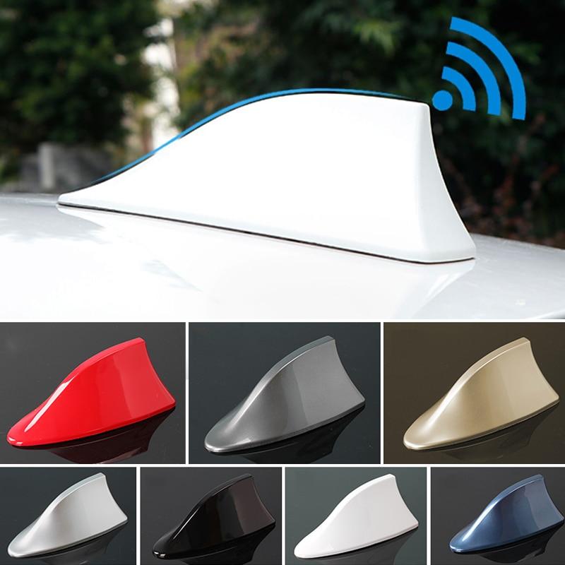 GOJOSOWIN Universal antena tipo aleta de tiburón de coche Auto Exterior techo...