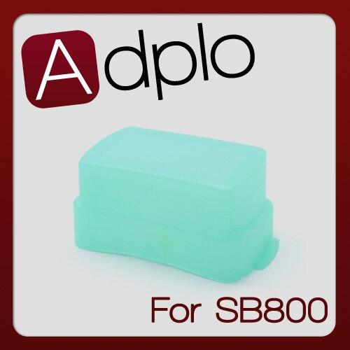 SB800 Flash Bounce Dome Difusor Light Box Terno Para Nikon Speedlite Verde