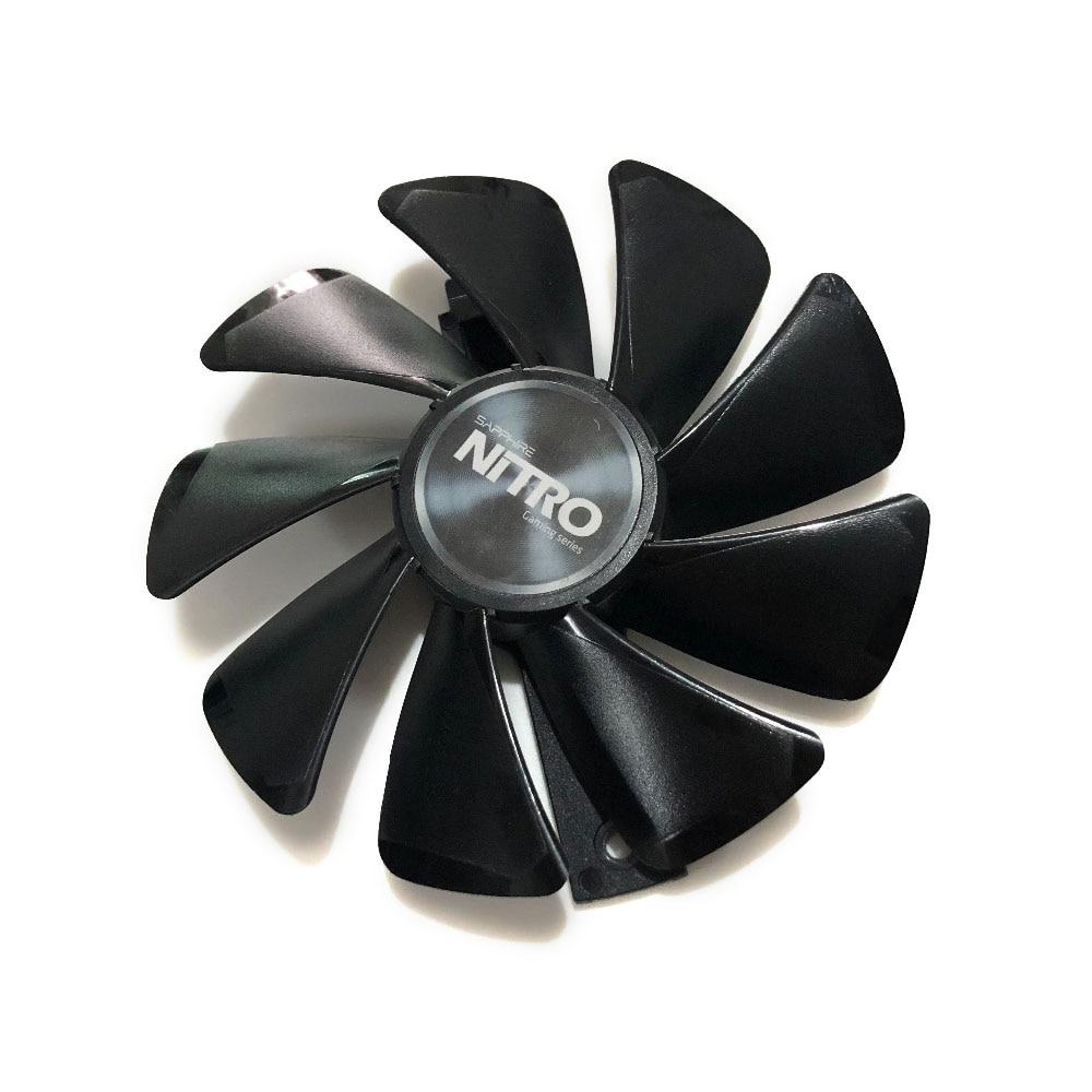 FDC10U12S9-C CF1015H12D RX 580/570/480 GPU VGA Графический кулер вентилятор для Sapphire NITRO RX580 RX480 Замена Охлаждения видеокарты