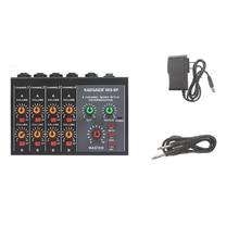 Kaxfairy er MIX-8P Reverb table de mixage 8 canaux Mini table de mixage petit Instrument micro Extender Y