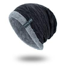 Winter Hut Männer Beanies Für Männer Kappen Flauschigen Dickes Kalpak Männlichen Herren Winter Caps Skullies Motorhaube Homme Hiver #815