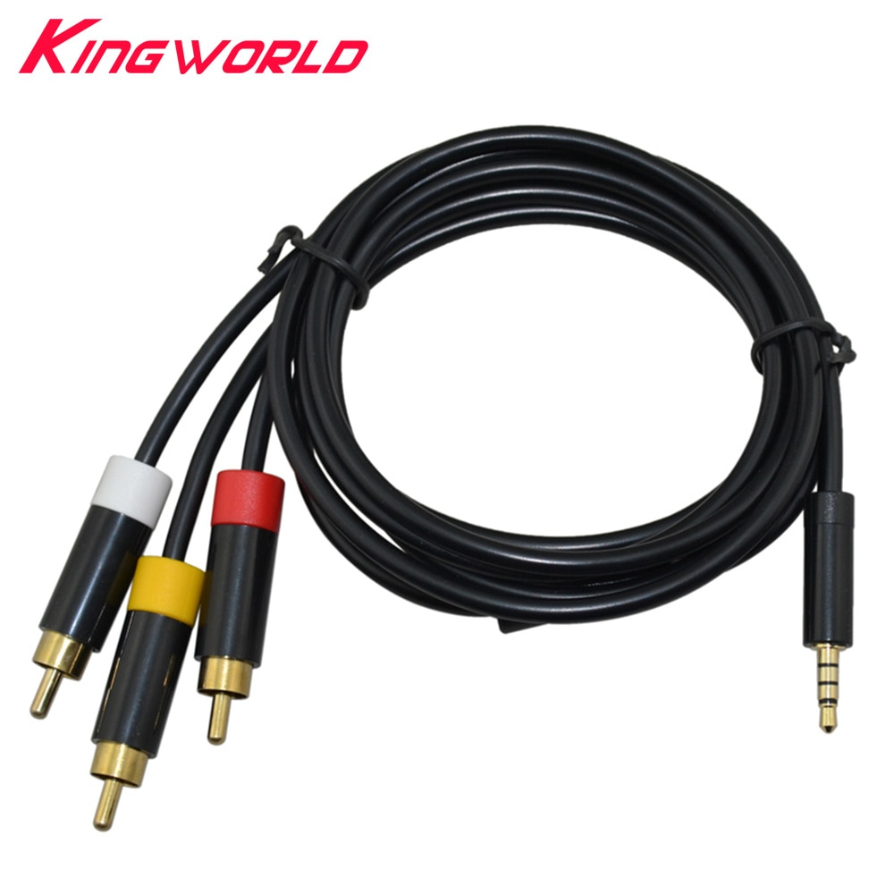 Cable compuesto de Audio y vídeo, 3RCA, CA, AV, RCA, para Cable...