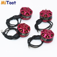4pcs/lot Mitoot 1103 7800kv 2-3s Mini Brushless Motor for RC 80 90 100 mm 120mm Mini Multirotor Drone