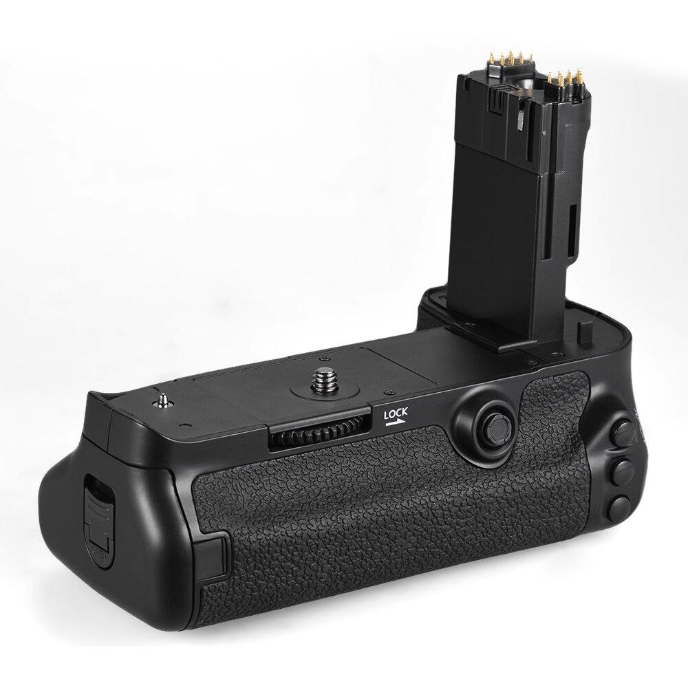 Soporte de agarre de batería de cámara vertical Andoer BG-1W para Canon EOS 5D Mark IV reemplazo para cámara DSLR para BG-E20