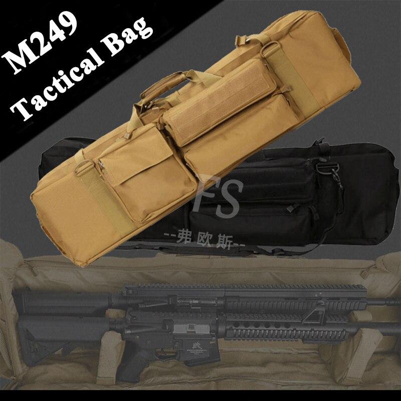 Bolsa de Arma Alça de Ombro Náilon Tático Caça Airsoft Sniper Rifle Case Tiro Militar Combate Arma Carry Bolsa Proteção