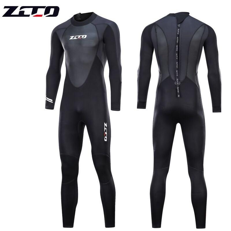 جديد الغوص بذلة الرجال 3 مللي متر بدلة غطس النيوبرين السباحة بذلة تصفح الترياتلون بدلة غطس ملابس السباحة كامل ارتداءها