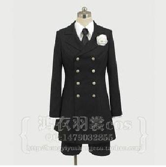Black Bulter Kuroshitsuji Ciel Phantomhive Cosplay  Costume funeral  Cosplay  Costume