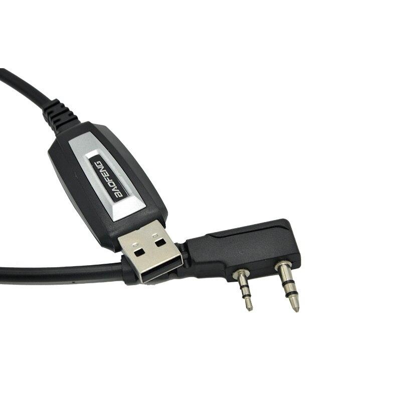 Baofeng USB câble de programmation UV-5R talkie-walkie cordon de codage K Port programme fil pour BF-888S UV-82 UV 5R accessoires