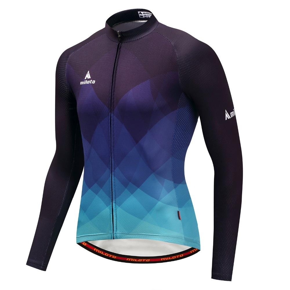 2019 Jerseys De Ciclismo retro De manga larga Ropa De Ciclismo De...