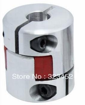 3 pcs CNC Acoplamento Flexível 6.35x8mm D25L30 Jaw Aranha Plum Acoplamento Do Eixo Acoplador