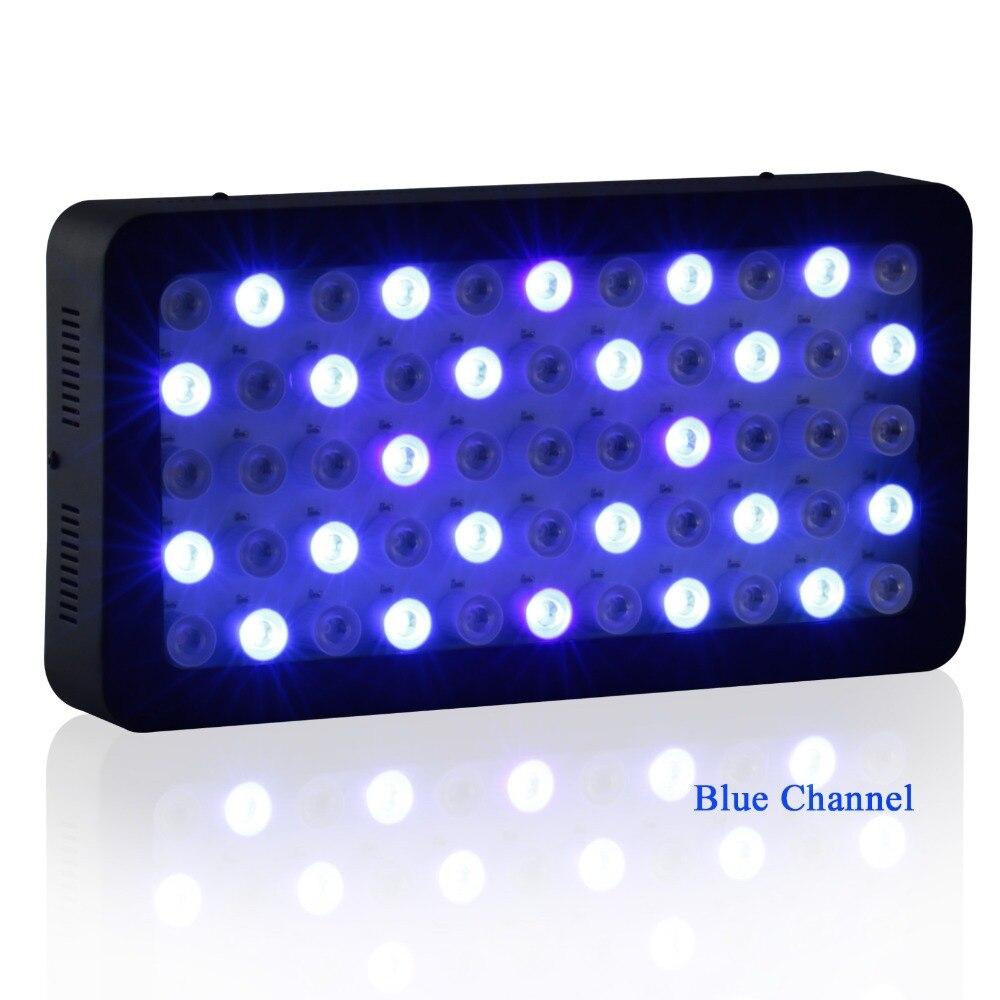 LED Aquarium Light Bluetooth Control 165w Dimmable For Coral Reef Led Fish Plant Full Spectrum Marine Aquarium Led Lamp enlarge