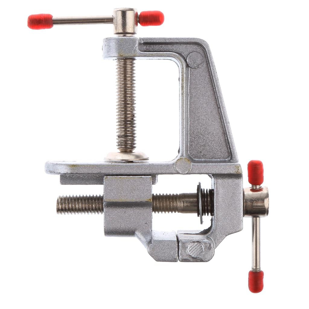 Миниатюрный Настольный тиски зажим для работы на скамейке миниатюрный