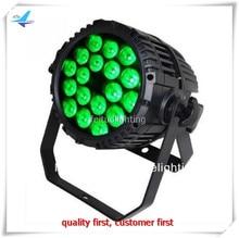 10 lichten ip65 18x10w 4in1 led par waterdichte led par licht rgbw par outdoor led uplight wassen led lamp DMX DJ projector