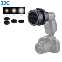 JJC Flash Light nid dabeille grille photographique Speedlight Photo Studio accessoires pour CANON 580EX II/600EX RT/YONGNUO YN-600EXII