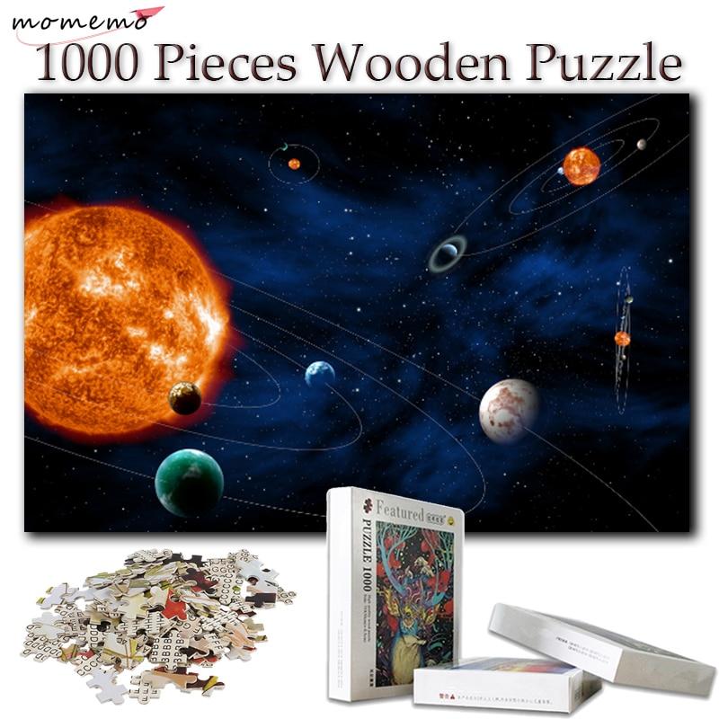MOMEMO 1000 шт. деревянные головоломки игрушки для взрослых головоломки 1000 шт. головоломки игры для детей обучающие игрушки