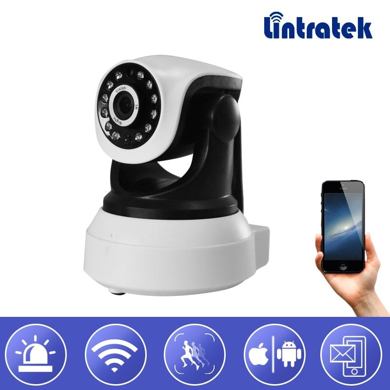 Lintratek New Wifi IP Surveillance Camera HD 1080P Wi-fi Security Mini CCTV Camera PTZ Onvif P2P Home Camera Baby Monitor #39