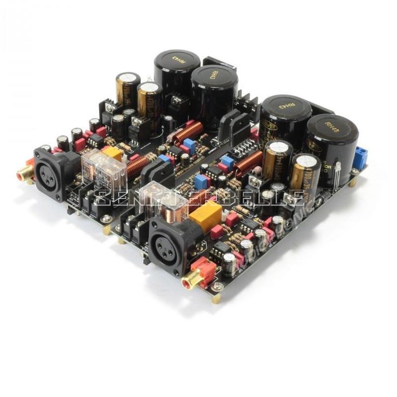 LM3886 Voll Ausgewogene Power Verstärker Bord 120 W + 120 W HiFi Stereo 2-kanal Fertig Bord