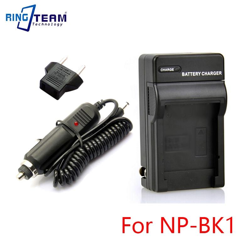 10 set/lote NPBK1 NP-BK1 cargador de batería y adaptador de coche BC-CSK...
