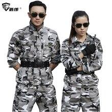 Uniforme militaire neige Camouflage armée veste de Combat Cargo pantalon Uniforme militaire tactique CS Softair hommes vêtements de travail femme
