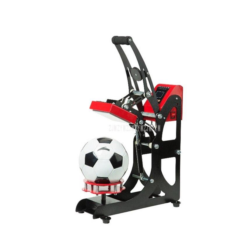 AP1719 Semi-Automatic LOGO Hot Press Machine for Soccer/Ball/Football/Basketball Logo Hot Press Heat Transfer Printing Machine