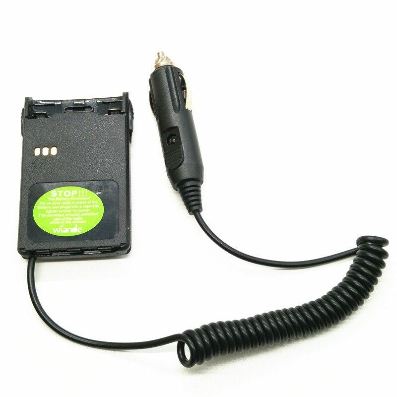 Adaptador eliminador de cargador de batería de coche para PUXING PX-328 PX 777 PX777 + PX888 PX888K