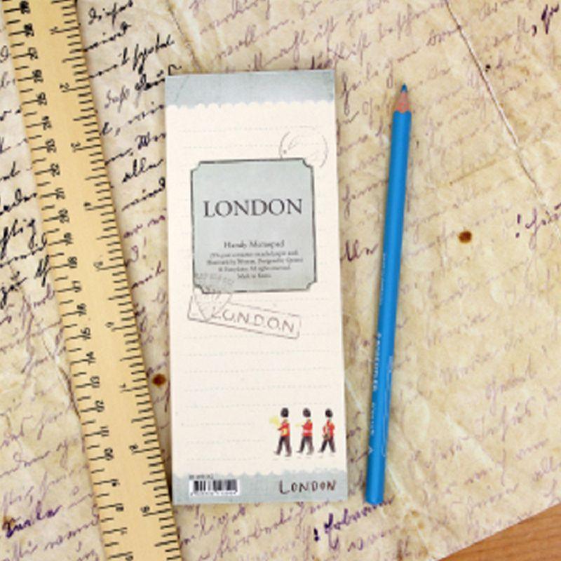 Cuaderno de Londres, agenda 2017, cuaderno, cuadernos, dokibook, cadernos, diario personal, cuadernos, memopad filofax