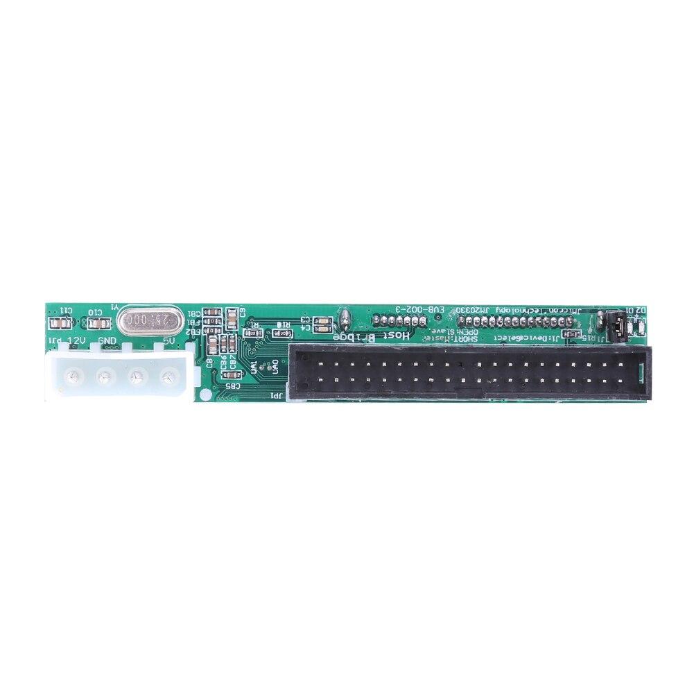 "2,5 ""3,5"" SATA HDD DVD a PC placa base JM20330 Chip PATA IDE convertidor tarjeta adaptadora"