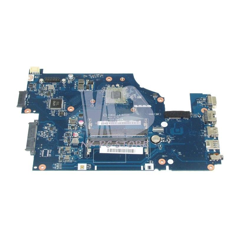 NOKOTION اللوحة الأم للكمبيوتر المحمول لشركة أيسر أسباير E5-521 اللوحة الرئيسية NBMLF11005 Z5WAE LA-B232P DDR3 A8-6410 وحدة المعالجة المركزية