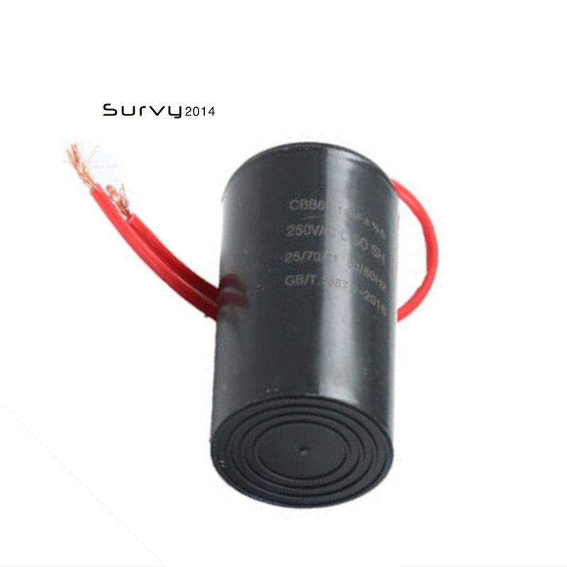 Condensador de lavadora CBB60 250V AC SH PO 16 uF