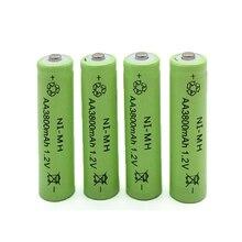 1,2 V 3800mah AA batería Ni-MH recargable Neutral para cámara Control remoto juguetes linterna