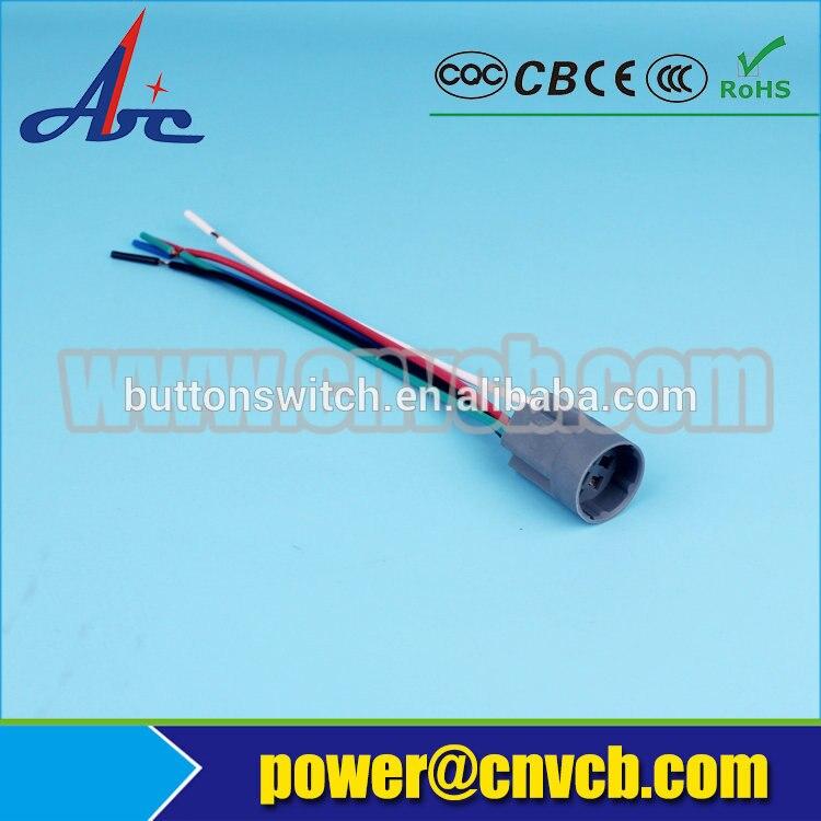 SH02 16d 16 ملليمتر تسخير (ل IB16D التبديل ، نوع مضيئة ، 2NO2NC) 16 ملليمتر التبديل موصل