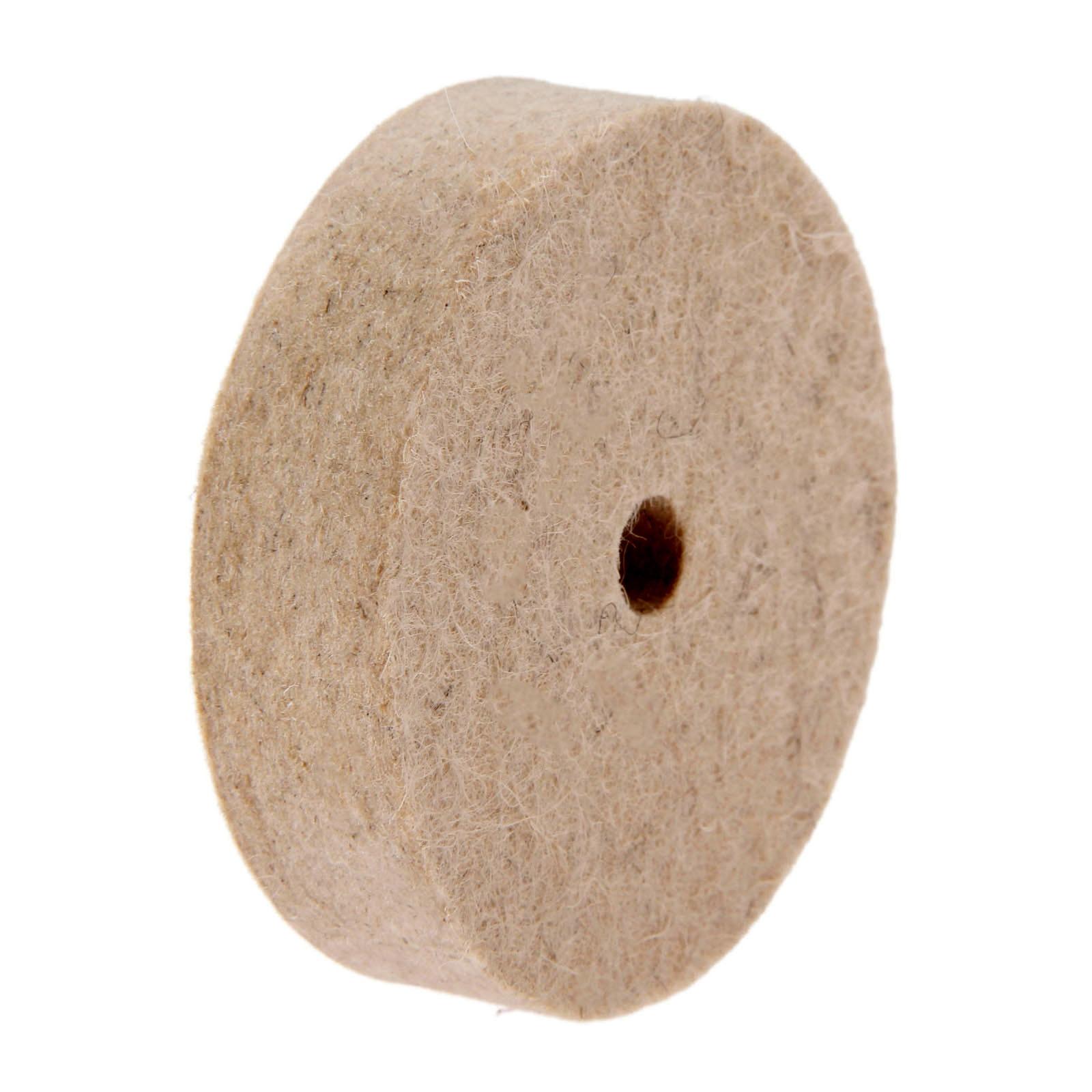 """Dreld 3 """"Polegada 75mm broca de moagem polimento roda feltro lã almofada disco abrasivo para madeira metal bancada dremel ferramenta giratória"""