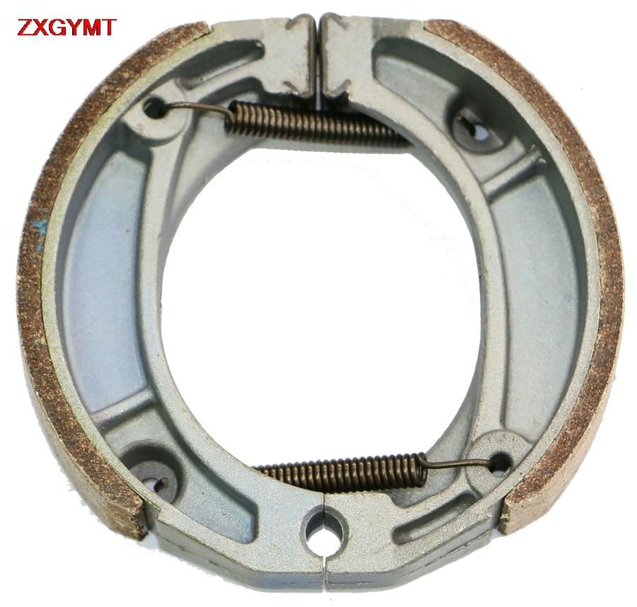 Sintered Brake Pads Set fit HONDA NSR 75 NSR75 FII 1988 - 2000 Front Rear Shoe Drum 00 88 99 98 97 96 95 94 93 92 91 90 89
