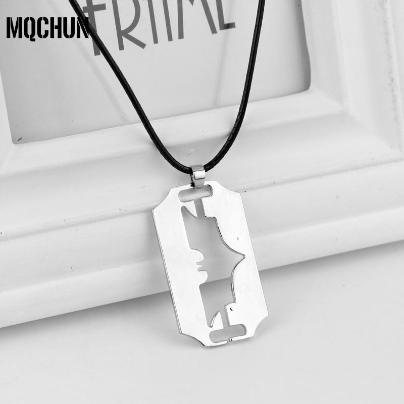 MQCHUN, venta al por mayor, joyería de moda, collar de Batman, superhéroe, Batman, colgante, collar, cadena, Gargantilla, collar Collier-30