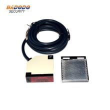 Square Reflex Light Barrier Sensor DC12-24V / AC90-240V Reflective photoelectric switch photocell E3JK-R4M1 infrared beam sensor