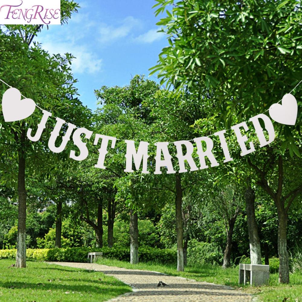 FENGRISE Glitter Braut Zu Werden Banner Hochzeit Dekoration Braut Dusche Nur Verheiratet Banner Girlanden Foto Requisiten Partei Liefert