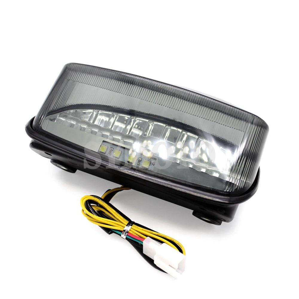 CBR 1100XX LED de la motocicleta de freno trasero lámpara de señal para Honda CB250 CB600 Hornet 250 600 CBR1100XX pájaro negro 1998 de 1999 -2003