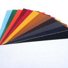 Accesorios David 97*198mm Litchi autoadhesivo adhesivo PU litchi reparación parche cuero costura DIY bolsa Material del zapato, 1Yc4847