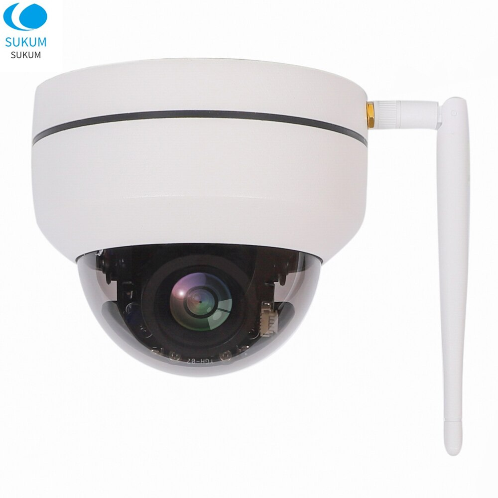 2MP Wireless IP Camera 1080P Wifi Dome PTZ Camera 2.8-12mm Motorized lens Onvif IR CCTV Security Surveillance Camera CAMHI APP