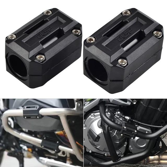 Мотоциклетный защитный кожух двигателя бампер Декор блок для Benelli TRK 502 & Triumph 900 STREET TWIN Crash Bar бампер Защита