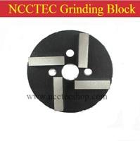 80mm/100mm circular Grinding Blocks with 4 diamond Segments FREE shipping | 3.2''/4'' metal bond concrete grinding pads shoes
