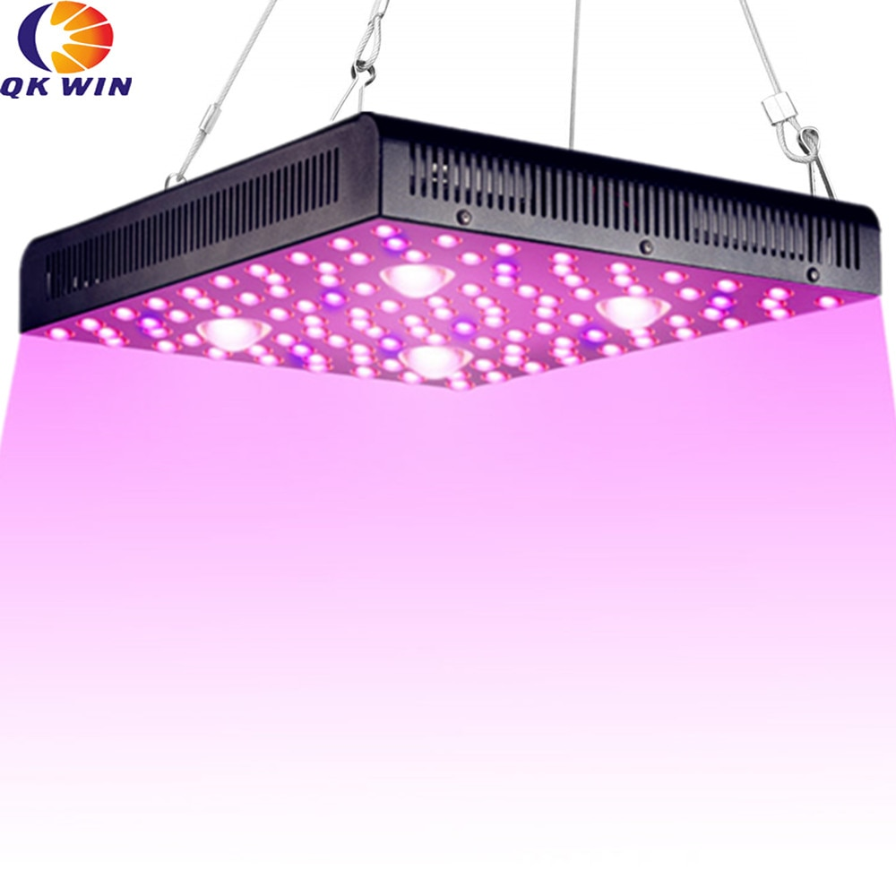 Qkwin-مصباح نمو COB MUSA led ، 2000 واط ، 400 واط ، طاقة حقيقية ، عدسة مزدوجة ، قيمة جيدة