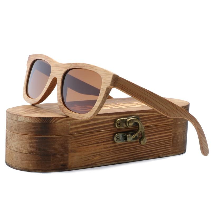Wood Sunglasses Polarized Wooden Glasses UV400 Bamboo Sunglasses Brand Wooden SunGlasses With Wood Case