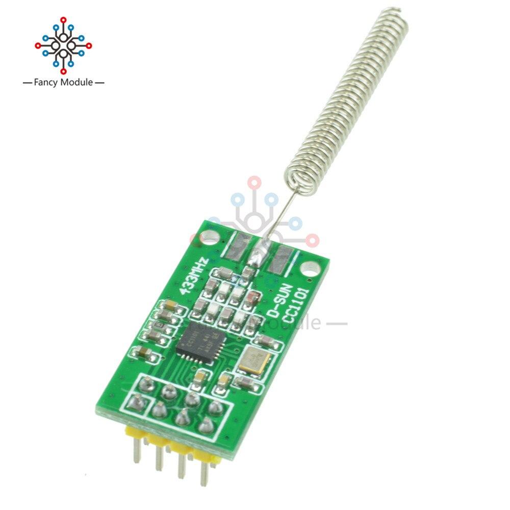 Cc1101 transceptor sem fio módulo 433 m 2500 nrf 350m transmissão de distância