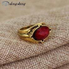 Dongsheng gran oferta el señor De Narya Galadriel Gandalf anillo LOTR joyería elfo tres anillos joyería de moda-25