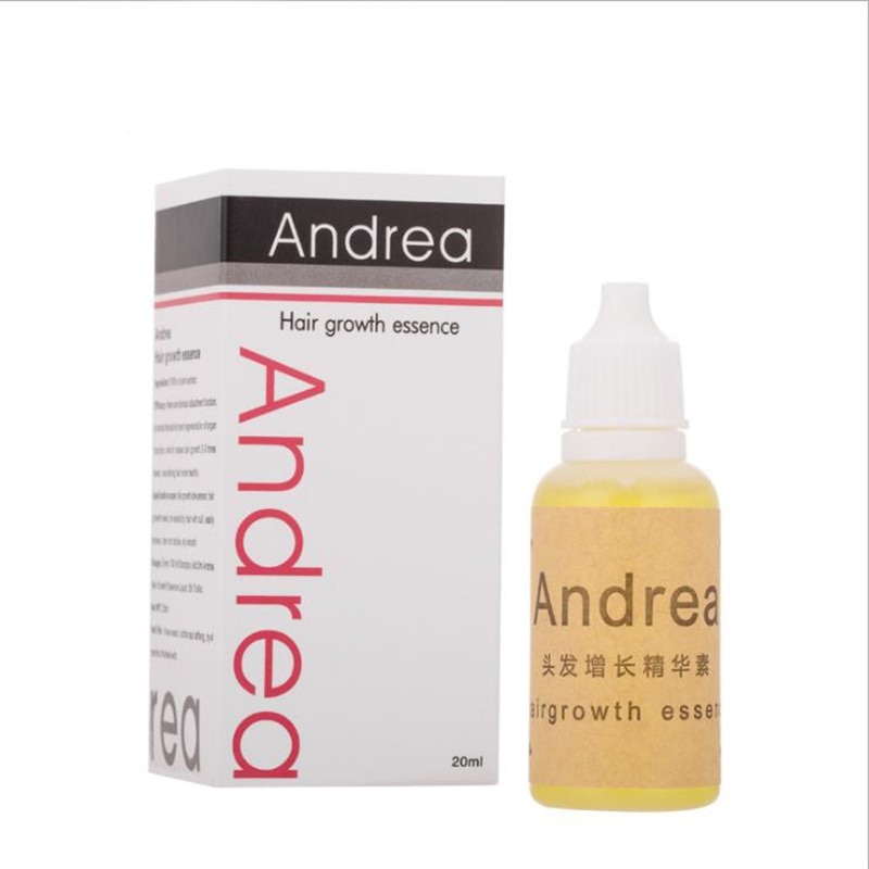 Andrea el crecimiento del cabello aceite esencia espesante para el crecimiento del cabello suero producto de la pérdida del cabello de 100% Natural de Extracto de planta de líquido