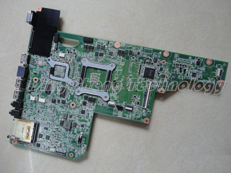 HOLYTIME placa base para portátil hp CQ62 G62 G72 placa madre del cuaderno 615381-001 1GB HD 5000 HM55 DDR3 100% prueba